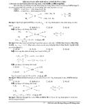 Giải bài toán hỗn hợp bằng sơ đồ đường chéo