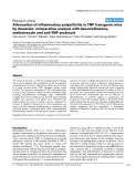 """Báo cáo y học: """"Attenuation of inflammatory polyarthritis in TNF transgenic mice by diacerein: comparative analysis with dexamethasone, methotrexate and anti-TNF protocols"""""""