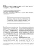 """Báo cáo y học: """"Psychological stress and fibromyalgia: a review of the evidence suggesting a neuroendocrine link"""""""