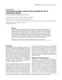 """Báo cáo y học: """" Citrullinated proteins: sparks that may ignite the fire in rheumatoid arthritis"""""""