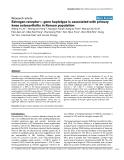 "Báo cáo y học: ""Estrogen receptor-α gene haplotype is associated with primary knee osteoarthritis in Korean population"""
