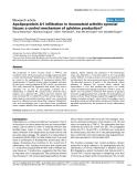"""Báo cáo y học: """"Apolipoprotein A-I infiltration in rheumatoid arthritis synovial tissue: a control mechanism of cytokine production"""""""