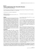 "Báo cáo y học: ""Tissue engineering in the rheumatic diseases"""