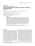 "Báo cáo y học: ""Specific cyclooxygenase-2 inhibitors and aspirin-exacerbated respiratory disease"""