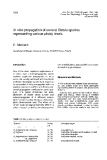 "Báo cáo khoa học: ""propagation of several Betula species representing various ploidy levels"""
