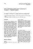 "Báo cáo khoa học: ""Study of endogenous plant growth Douglas fir I. Cytokinin analysis"""