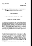 "Báo cáo khoa học: "" Biogeography of Matsucoccus josephi Bodenheimer et Harpaz in Crete and mainland Greece"""