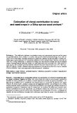 """Báo cáo khoa học: """"Estimation of clonal contribution to cone and seed crops in a Sitka spruce seed orchard"""""""