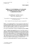 """Báo cáo khoa học: """"Influence de la fertilisation sur la pérennité des aiguilles de jeunes Pinus sylvestris en plantation forestière Ahmad Rahmani Jean-Pierre Verger Daniel Petit Alban """""""