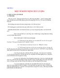 Quản lý chât lượng: CHƯƠNG 2  MỘT SỐ KHÁI NIỆM CHẤT LƯỢNG