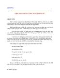 Quản lý chât lượng: CHƯƠNG 4  KIỂM SOÁT CHẤT LƯỢNG BẰNG THỐNG KÊ