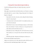 Quản lý Nhân sự: Chương bốn: Hoạch định tài nguyên nhân sự