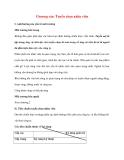 Quản lý Nhân sự: Chương sáu: Tuyển chọn nhân viên
