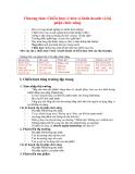 Giáo án Chiến lược kinh tế: Chương tám: Chiến lược ở đơn vị kinh doanh và bộ phận chức năng