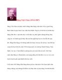 Doanh nhân lịch sử: Đặng Việt Châu (1914-1987)