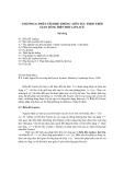 PHÂN TÍCH HỆ THỐNG LIÊN TỤC THEO THỜI GIAN DÙNG BIẾN ĐỔI LAPLACE( chương 6)