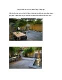 Một số mẫu sân vườn có thiết kế đẹp và hiện đại
