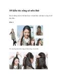 10 kiểu tóc công sở nên thử
