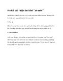 """6 cách cải thiện hơi thở """"có mùi"""""""