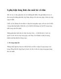 6 phụ kiện lung linh cho mái tóc cô dâu