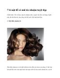 7 bí mật để có mái tóc nhuộm tuyệt đẹp
