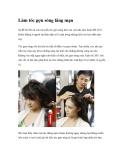 Làm tóc gợn sóng lãng mạnSự đổ bộ rầm rộ của các kiểu tóc gợn sóng