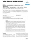 "Báo cáo khoa học: ""Diagnosis and management of retroperitoneal ancient schwannomas"""