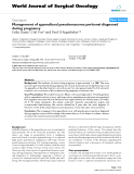"Báo cáo khoa học: ""Management of appendiceal pseudomyxoma peritonei diagnosed during pregnancy"""