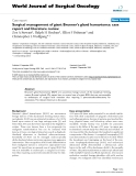 "Báo cáo khoa học: ""Surgical management of giant Brunner's gland hamartoma: case report and literature review"""