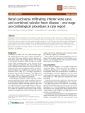 """Báo cáo khoa học: """"Renal carcinoma infiltrating inferior vena cava and combined valvular heart disease - one-stage uro-cardiological procedure: a case report"""""""