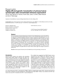 """Báo cáo y học: """"Highly efficient genetic transduction of primary human synoviocytes with concentrated retroviral supernatant"""""""