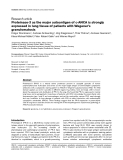 """Báo cáo y học: """"Proteinase-3 as the major autoantigen of c-ANCA is strongly expressed in lung tissue of patients with Wegener's granulomatosis"""""""