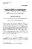 "Báo cáo khoa học: ""A  comparison of daily representations of canopy  conductance based on two conditional timeaveraging methods and the dependence of daily conductance on environmental factors"""
