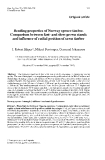 """Báo cáo lâm nghiệp: """"properties of Norway spruce timber. Comparison between fast- and slow-grown stands and influence of radial position of sawn timber"""""""