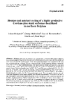 """Báo cáo lâm nghiệp: """"and nutrient cycling of a highly productive Corsican pine stand on former heathland in northern Belgium"""""""
