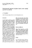 "Báo cáo lâm nghiệp: ""Photosynthetic response quantum flux density"""