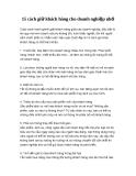 15 cách giữ khách hàng cho doanh nghiệp