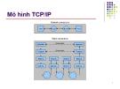 Mô hình TCP/IP - Bài 1