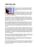 Bài báo về chứng khoán - Nghề nhộn nhạo
