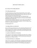 Kiến thức về môn chứng khoán