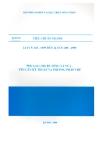 Tiêu chuẩn ngành 14 TCN 103 - 1999 đến 14 TCN 109 - 1999 part 1