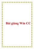 Bài giảng Win CC