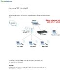 Hướng dẫn Thiết lập - Lắp mạng WIFI cho quán CAFE
