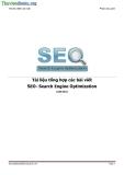 Tài liệu tổng hợp các bài viết SEO tiếng việt rất hay - Search Engine Optimization - Phạm Duy Anh