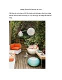 Những mẫu thiết kế bàn tiệc sân vườn