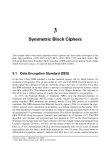 Internet Security Cryptographic Principles, Algorithms and Protocols - Chapter 3