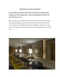Nội thất khách sạn Witt Istanbul Suites