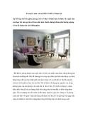 Trang trí nhà với nội thất cổ điển và hiện đại