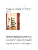 Mở rộng không gian cho nhà hẹp