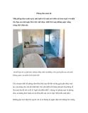 Phòng tắm mùa hè